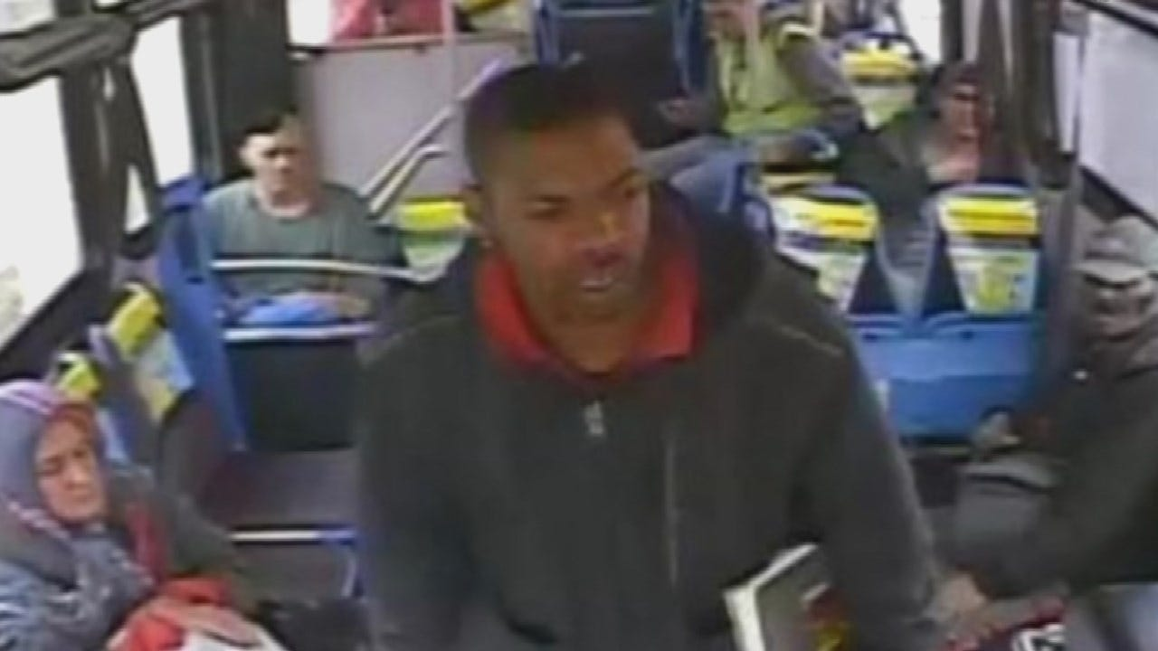 OKC Police Searching For Man Accused Of Threatening Bus Driver With A Hammer