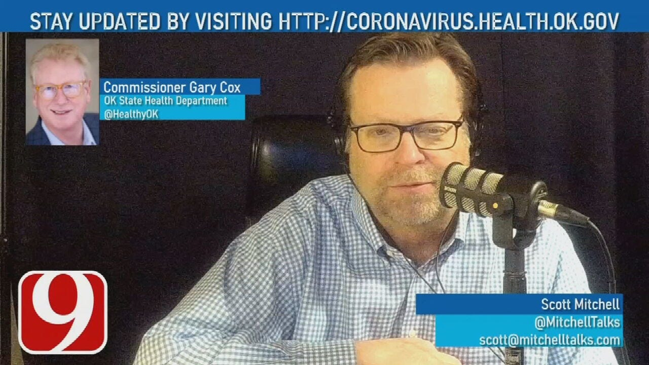 The Hot Seat: Oklahoma State Health Commissioner Gary Cox