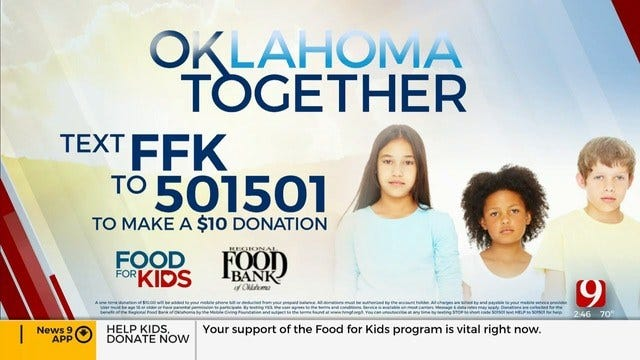 Oklahoma Together: How Food For Kids Helps Local Students