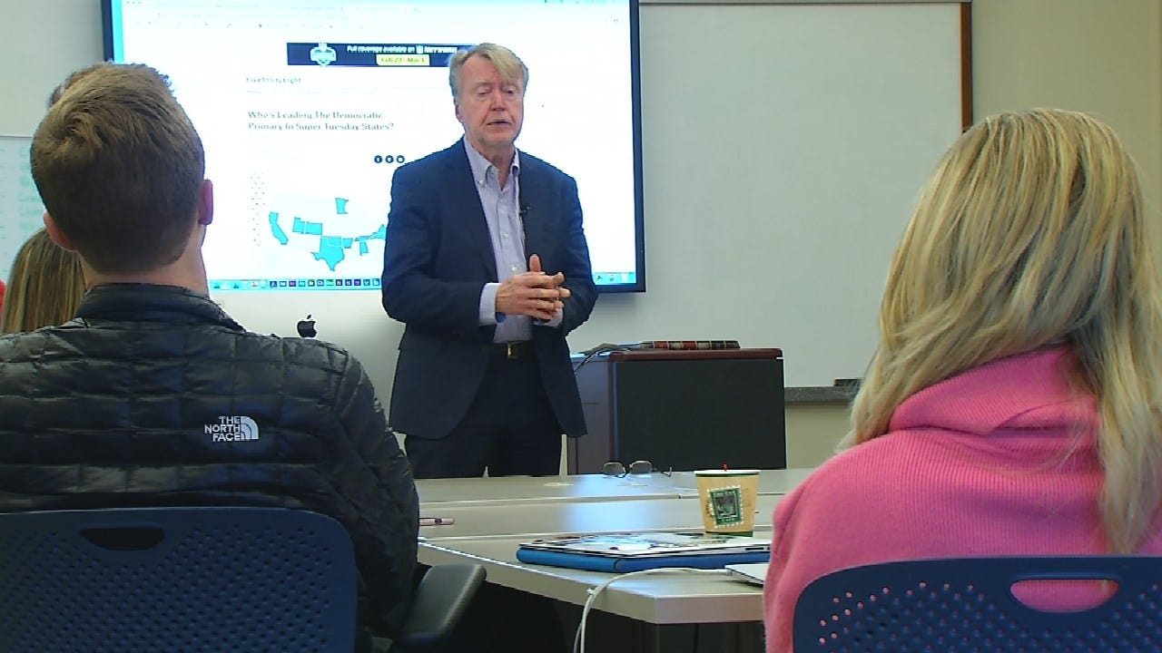 Veteran Oklahoma Newsmen Use History Of OKC Bombing To Teach Future Journalists at OU's Gaylord College