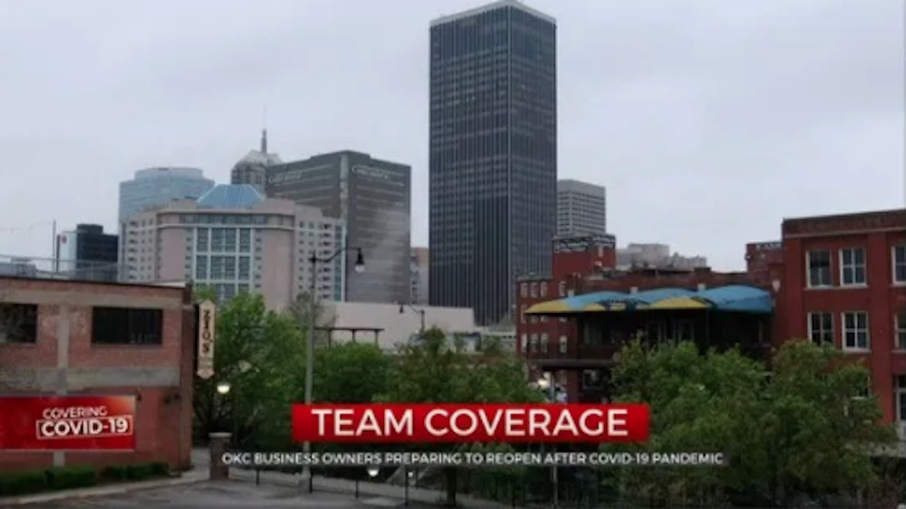 Downtown Oklahoma City Businesses, Nonprofits Prepare To Reopen