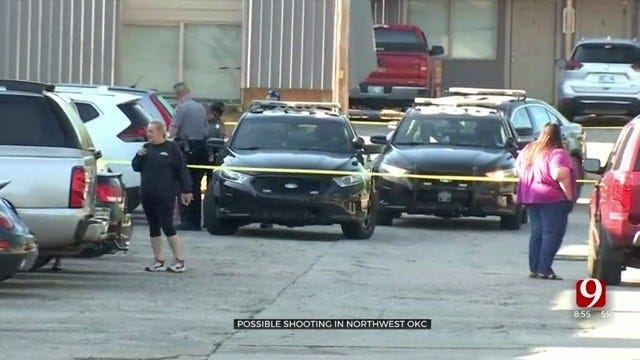 Police Investigate Shooting At NW OKC Apartment Complex