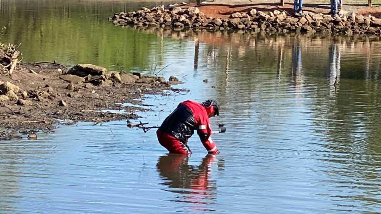 El Reno Police Investigate Homicide, Evidence Found In Local Pond
