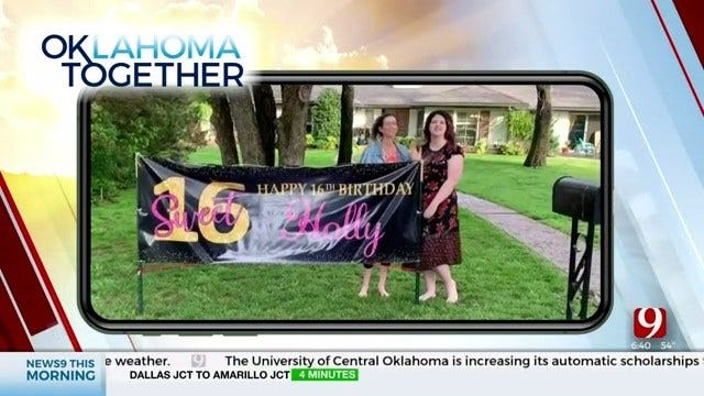 Oklahoma Together: 16-Year-Old Doesn't Let COVID-19 Damper Her Birthday