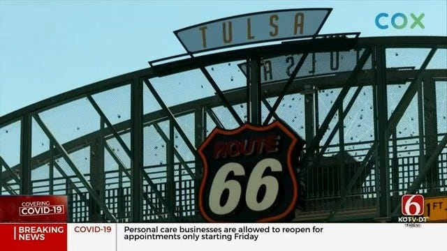 Tulsa Route 66 Commissioner Says People Can Learn Road's History Without Leaving Vehicles