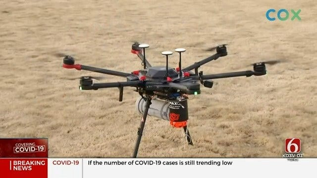 OSU Researchers Test Potential Use Of Drones For Medical Response
