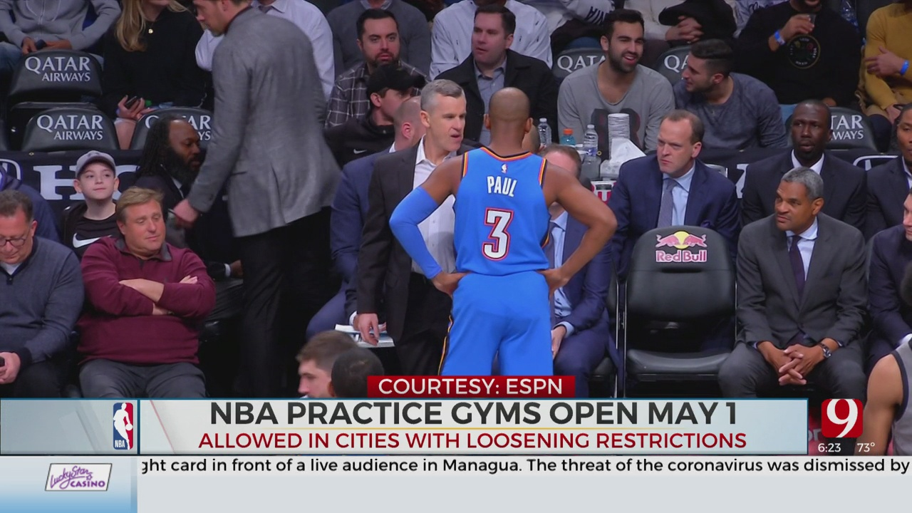 WATCH: ESPN's Wojnarowski: NBA To Allow Teams To Open Practice Facilities