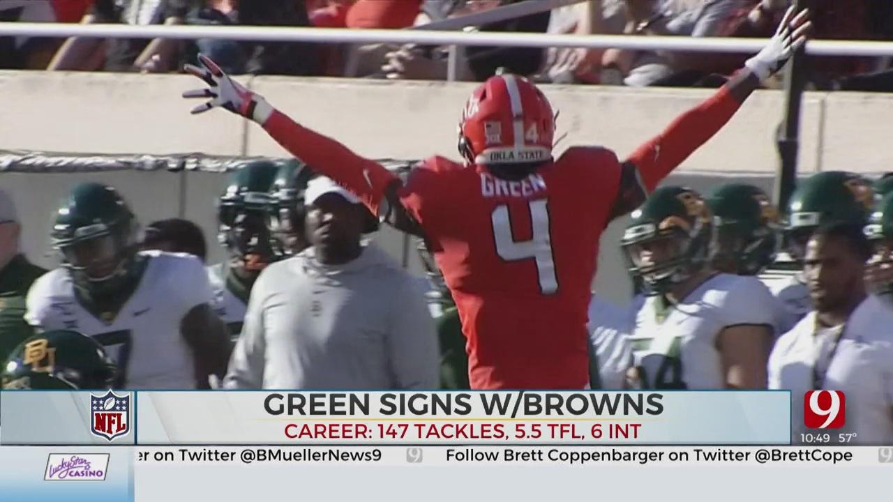 Ex-OU CB Motley, Ex-OSU CB Green Sign NFL Free Agent Deals
