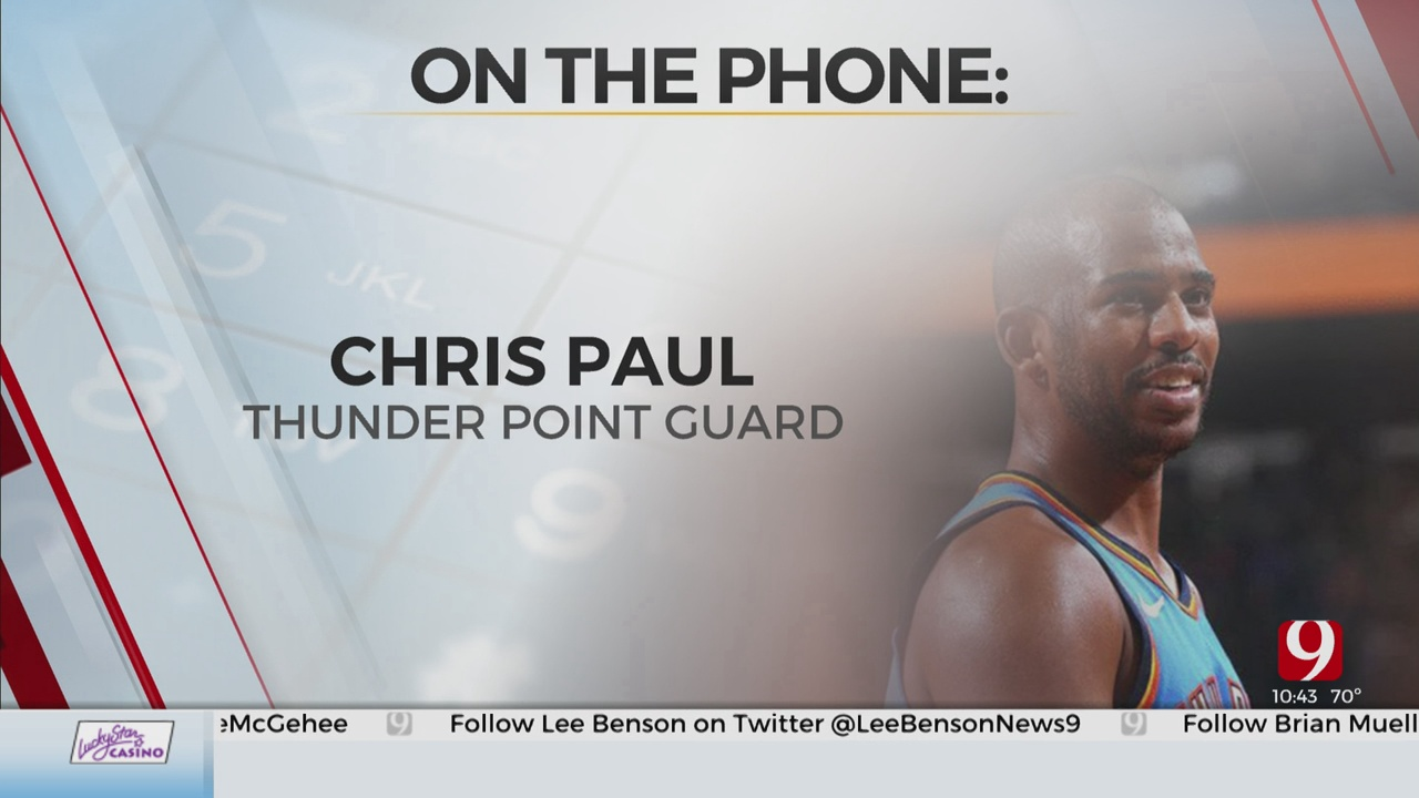 Thunder Point Guard Chris Paul Talks About The Potential Return Of Basketball