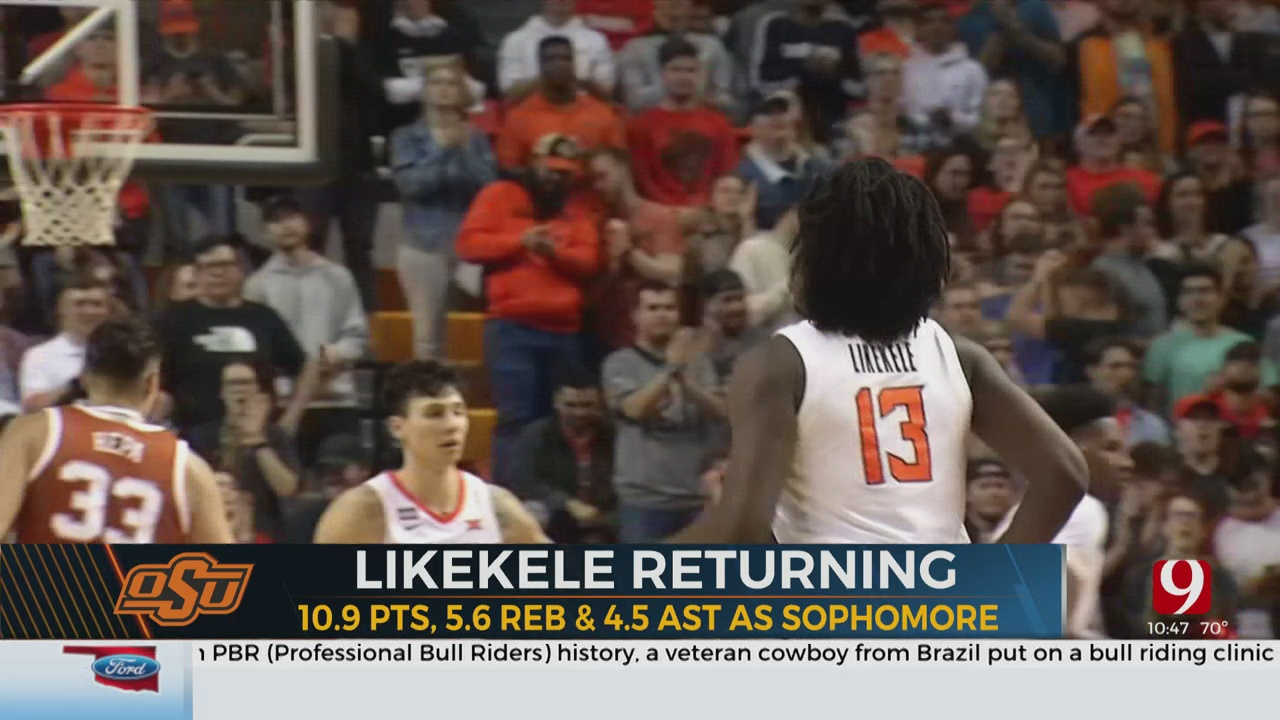 Oklahoma State's Isaac Likekele Is Returning To Stillwater For Another Season