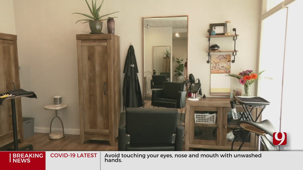 Salons Practicing New Sanitary Standards After Gov. Stitt Allows Reopening