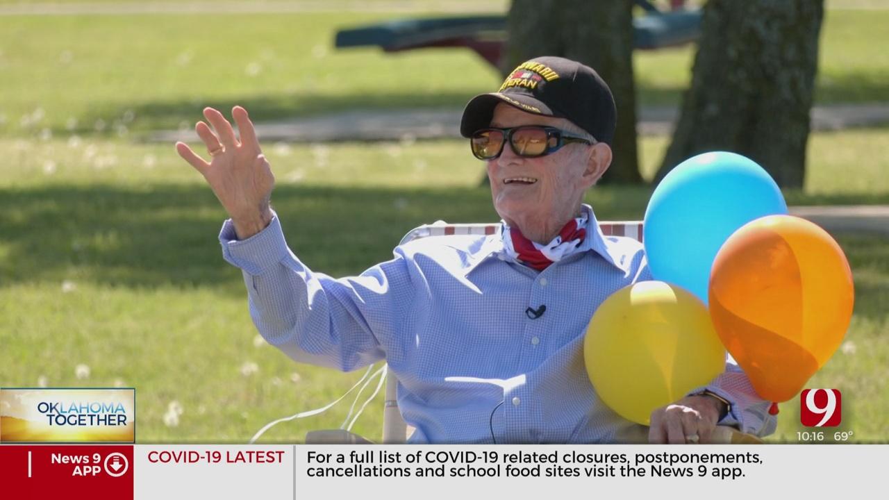 Oklahoma Veteran Surprised With Parade For 98th Birthday