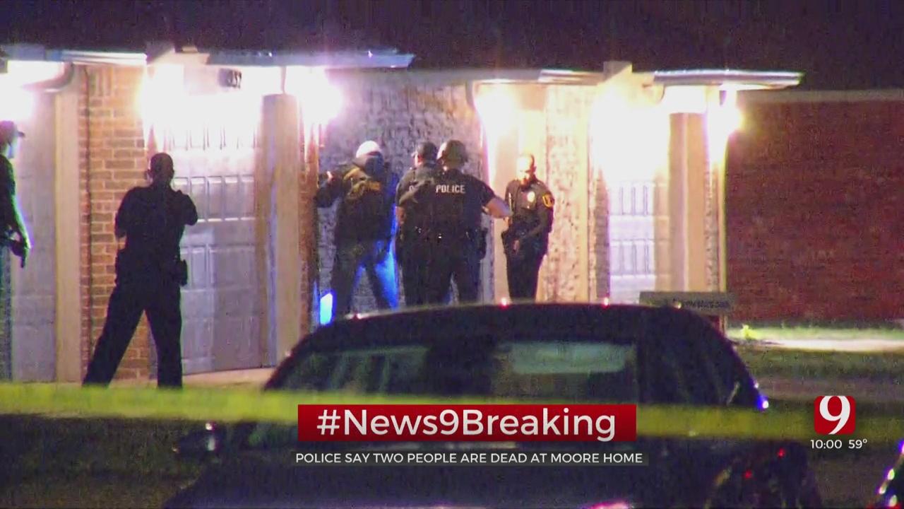 Police Investigate Apparent Murder-Suicide In Moore