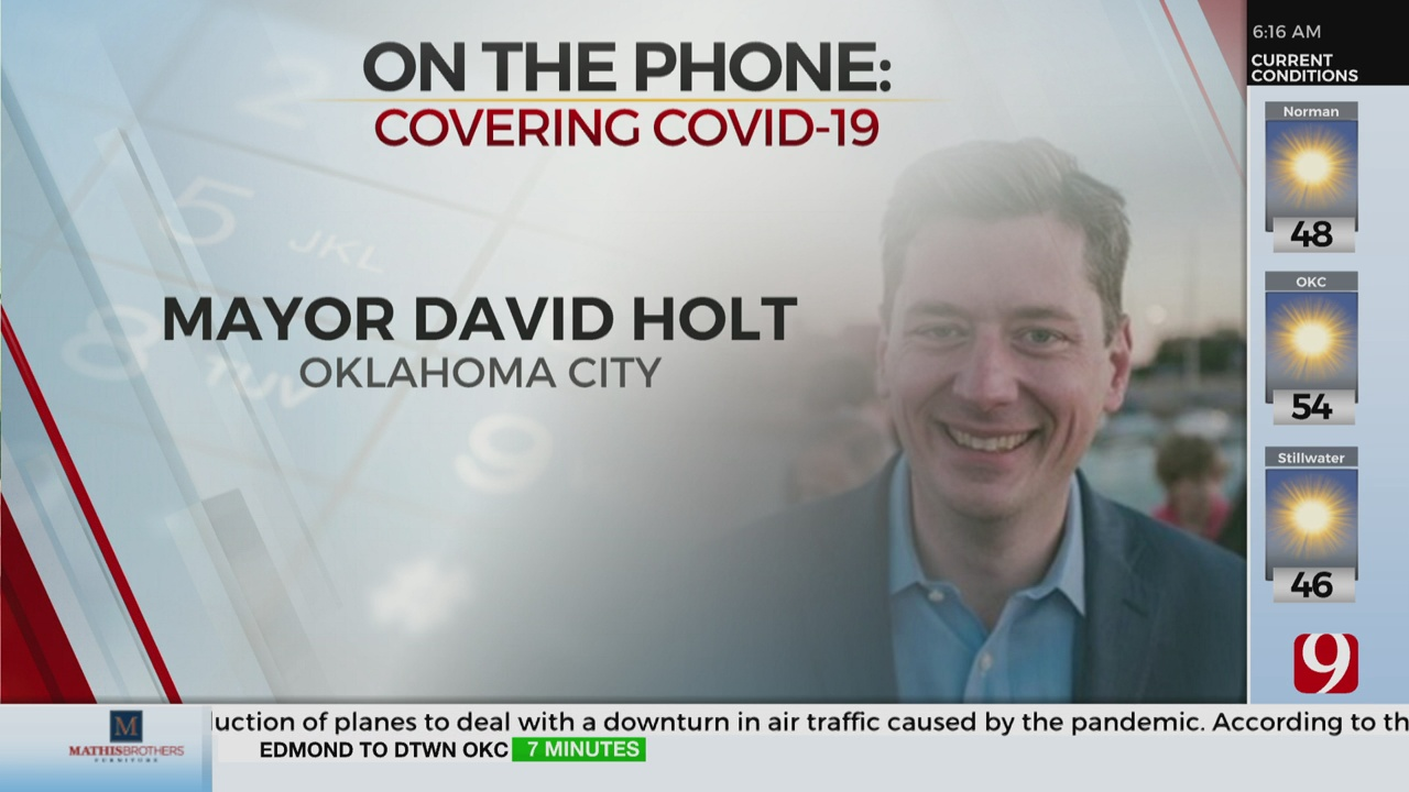 Watch: OKC Mayor Holt On Next Steps For Business Preparing To Reopen