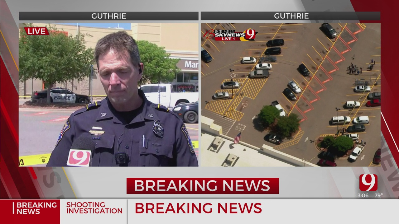 Guthrie Police Give Update On Walmart Shooting