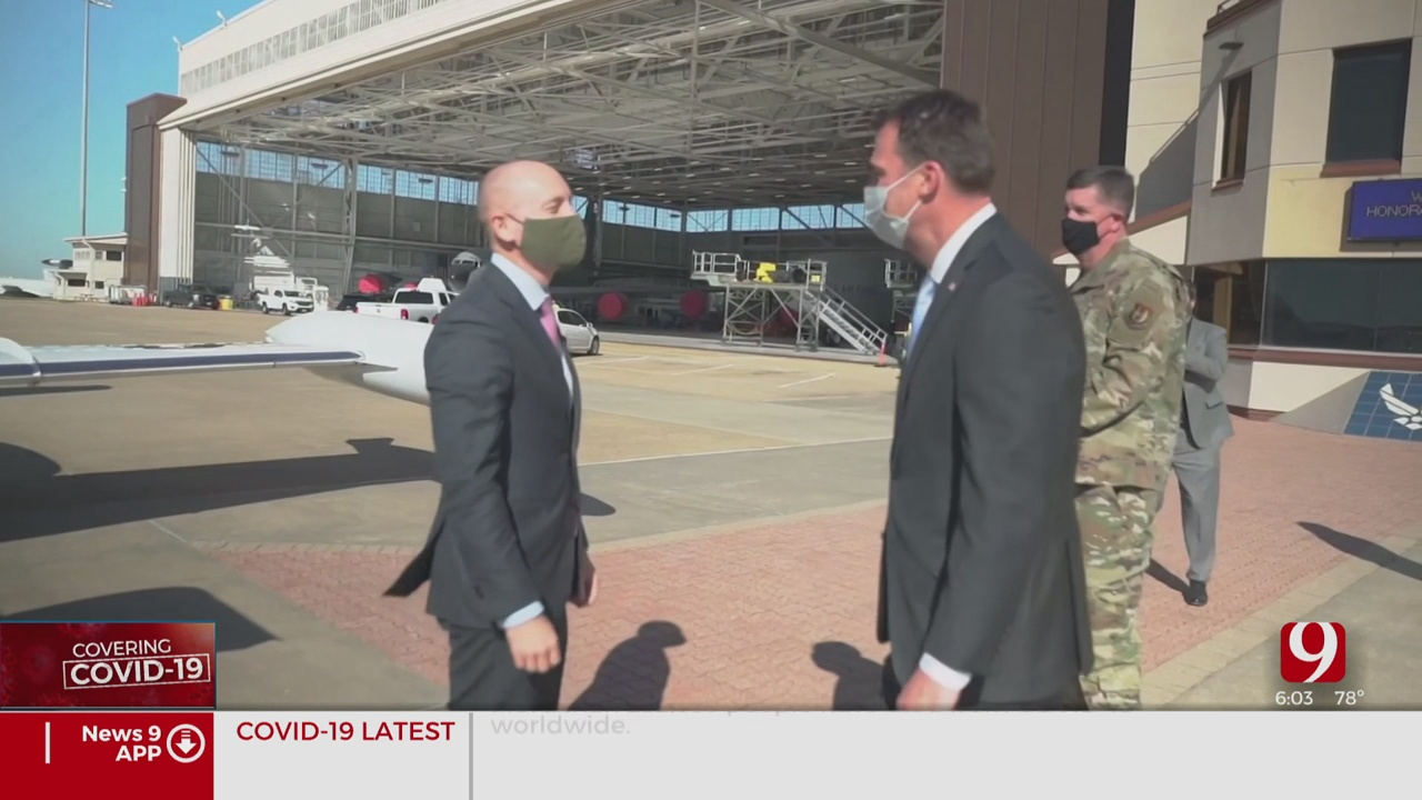 Air Force Undersecretary Visits Tinker AFB, Discusses Coronavirus (COVID-19)