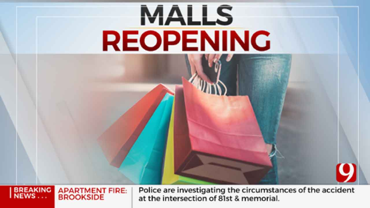 OKC Malls Taking Steps To Protect Customers As They Reopen