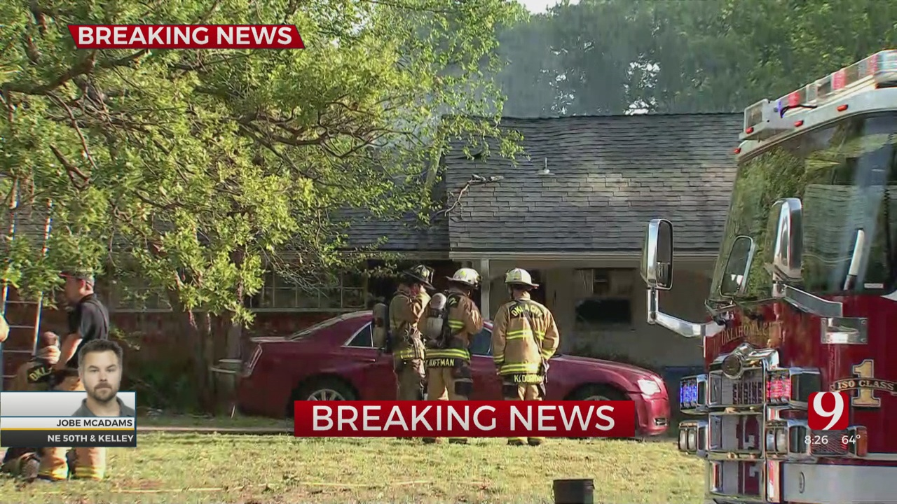 House Fire Reported In NE OKC