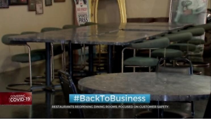 Okla. Restaurants Reopen Dining Rooms, Focused On Customer Safety