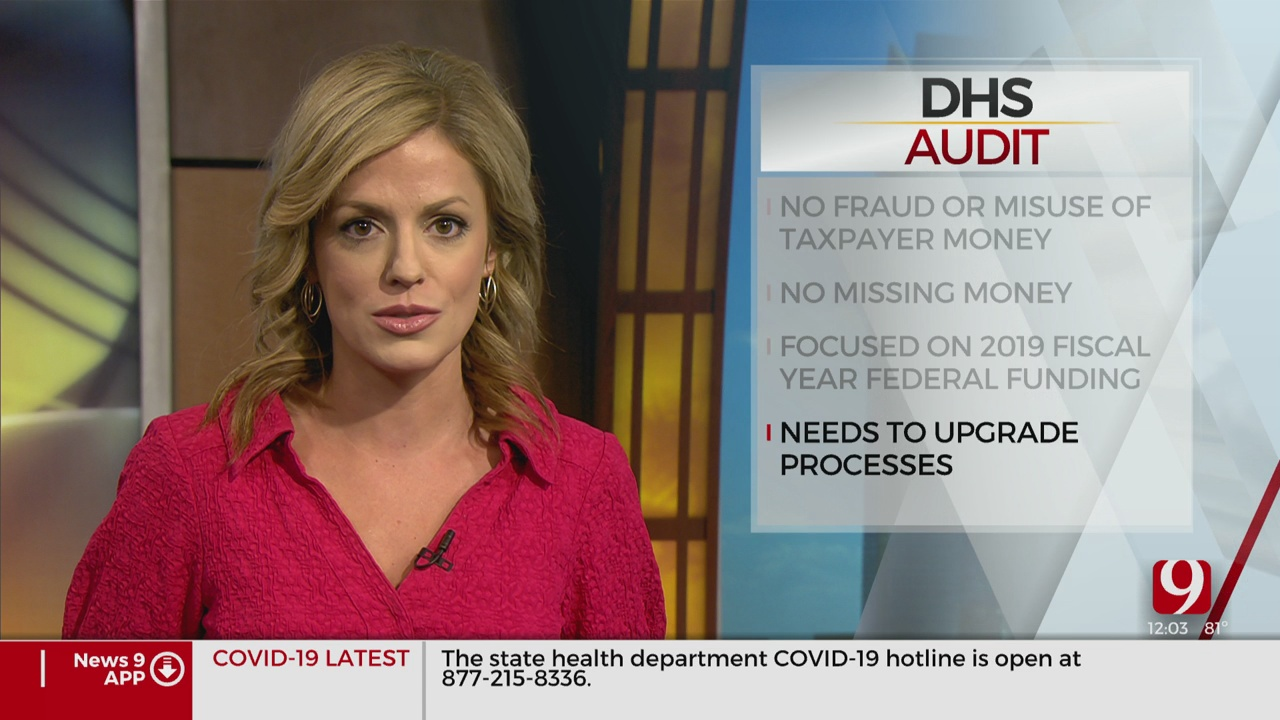 Oklahoma's Department Of Human Services Releases Audit For 2019 Fiscal Year