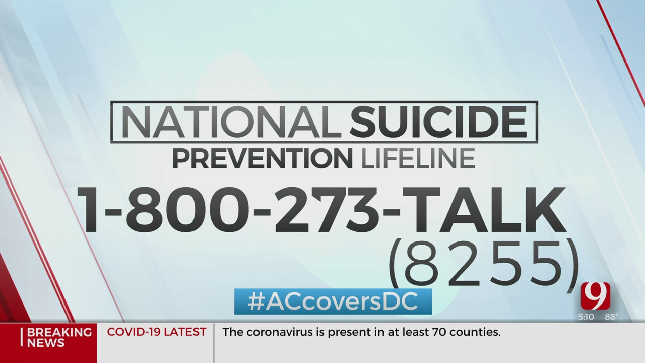Congress Creates New Suicide Hotline In Response To Current Stresses