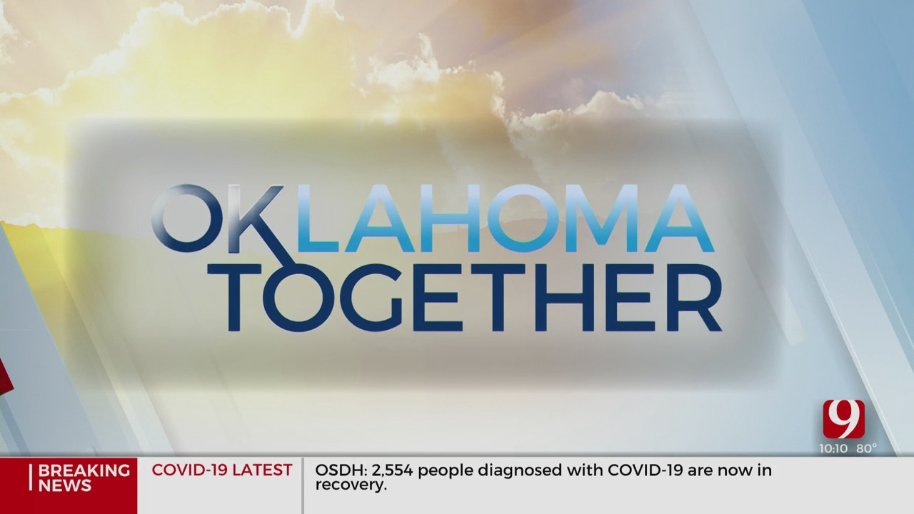 Oklahoma Together: Mural Painted In Honor Of Healthcare Workers