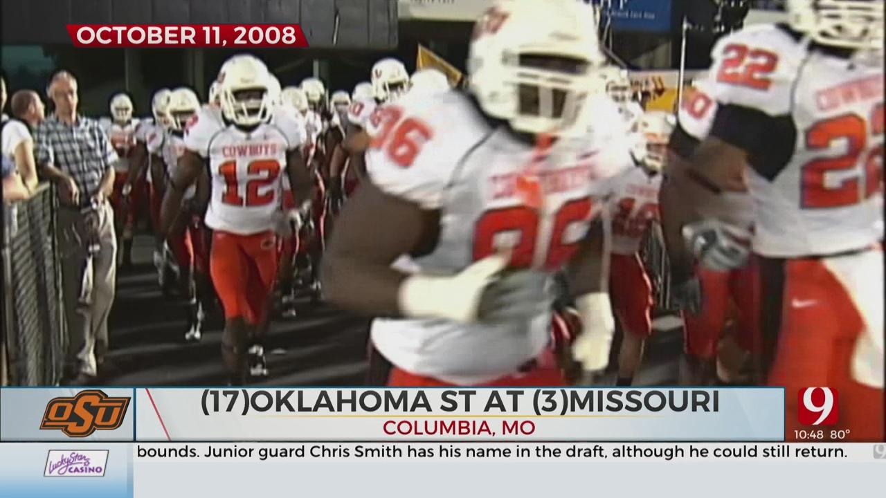 Holcomb And Hunziker Revisit OSU's Win At Missouri 12 Years Ago
