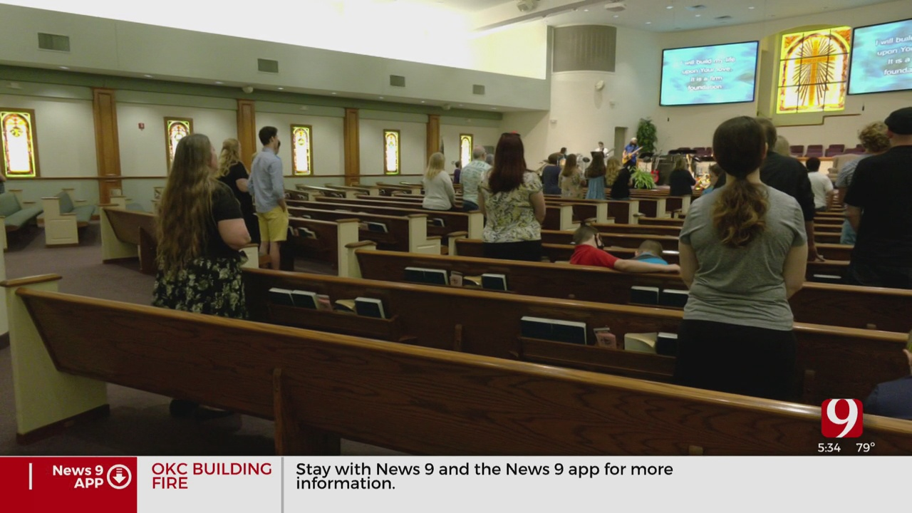 Midwest City Church Among Few Places Of Worship To Reopen Sunday