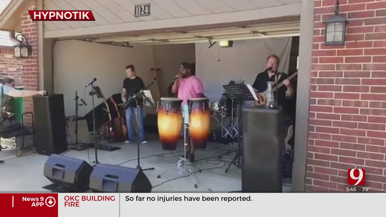Oklahoma Together: Local Band Gives Neighbors A Live Performance