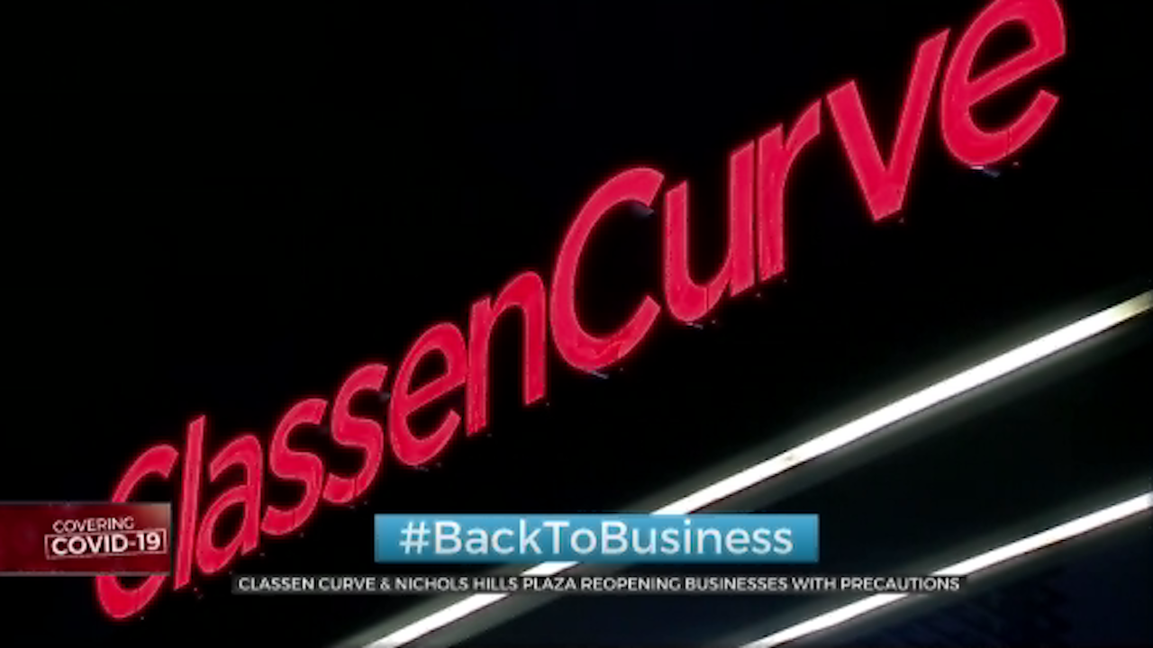 Classen Curve, Nichols Hills Plaza Reopens For Business With Precautions