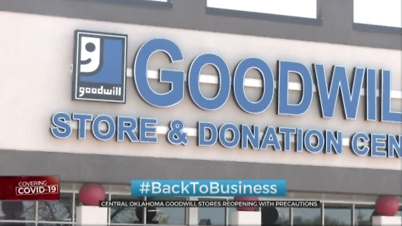 Central Oklahoma Goodwill Stores Reopening With Precautions