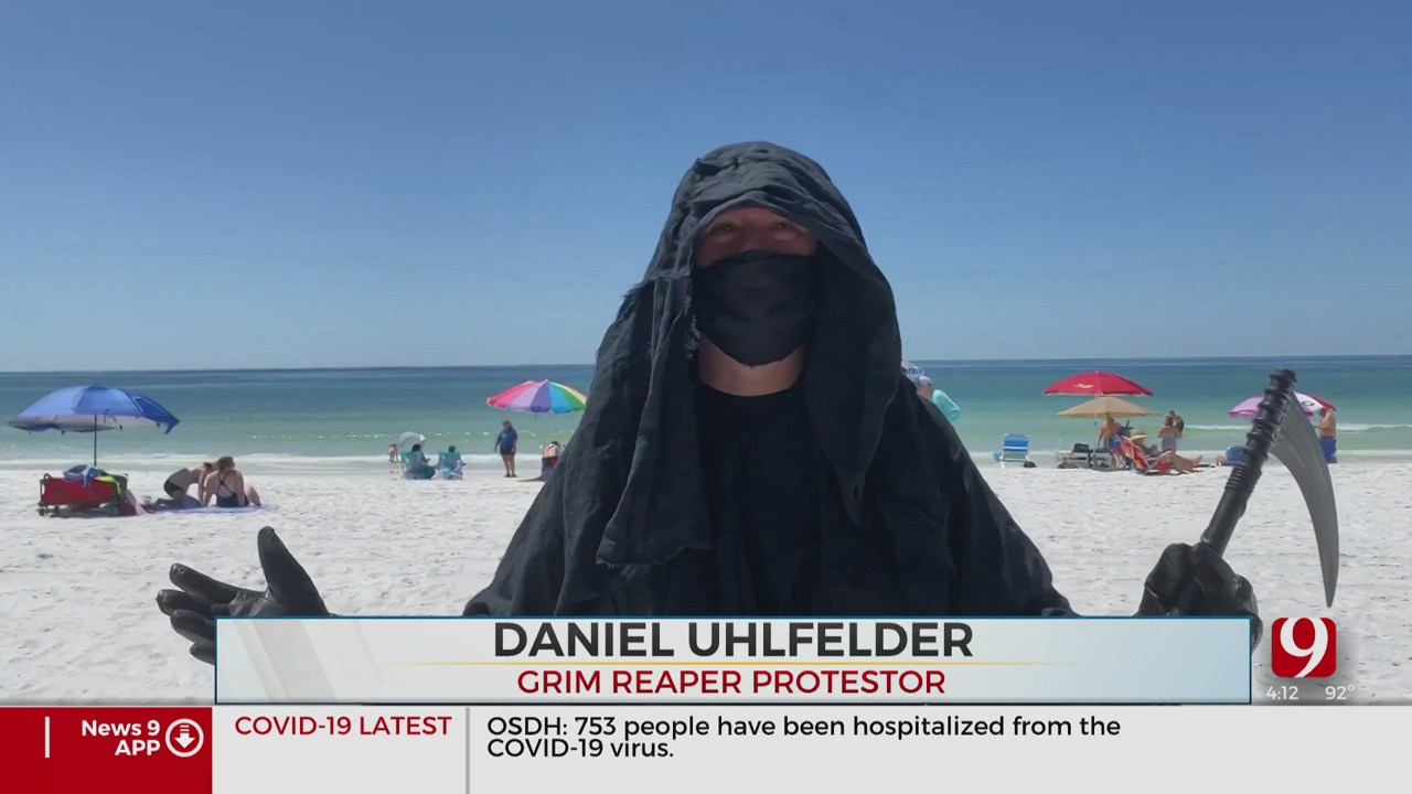Trends, Topics & Tags: Reaper Hits The Beach