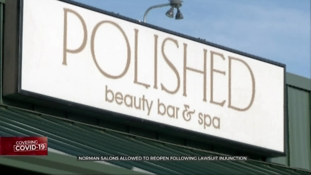 Norman Salons Allowed To Reopen Following Lawsuit