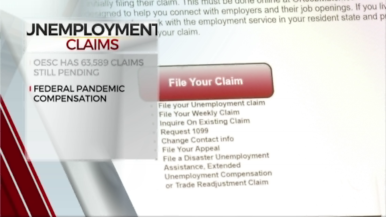 OESC Releases Update On Unemployment Claims