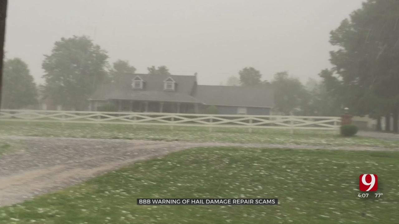 Severe Weather Season Brings Hail, Roof Repair Scams