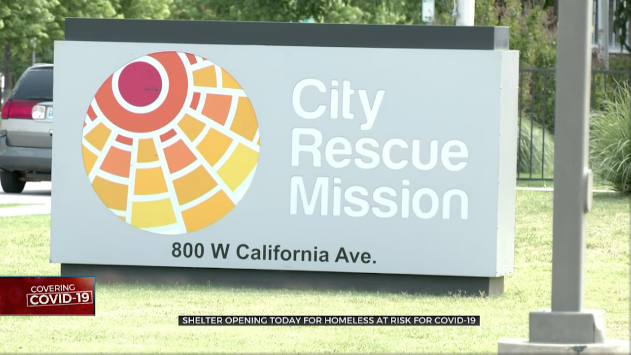 Homeless Shelters For Those Suffering From COVID-19 To Open Wednesday