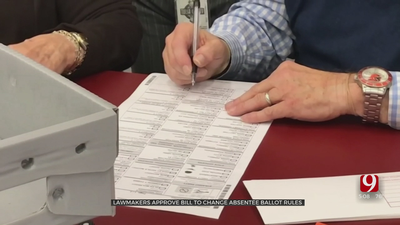 State House Passes Bill Requiring Notarization Of Absentee Ballots