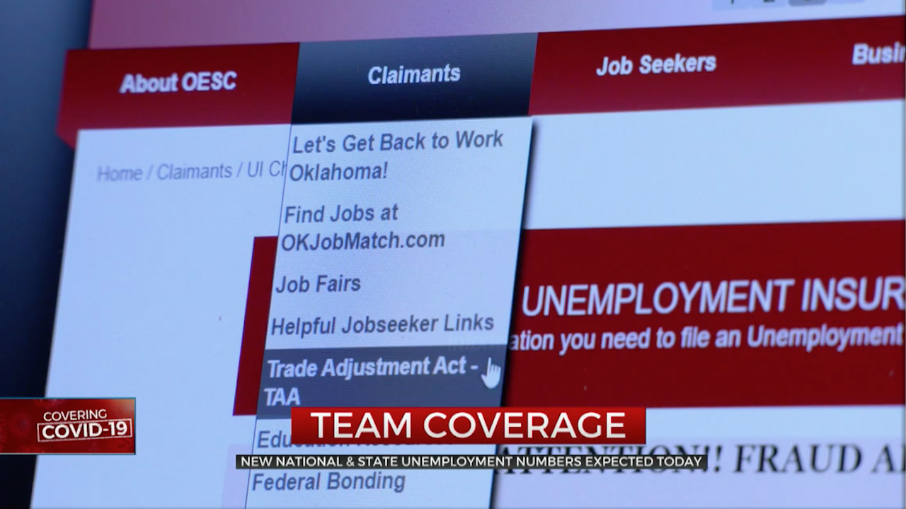 News Details Released On Oklahoma's Unemployment Numbers