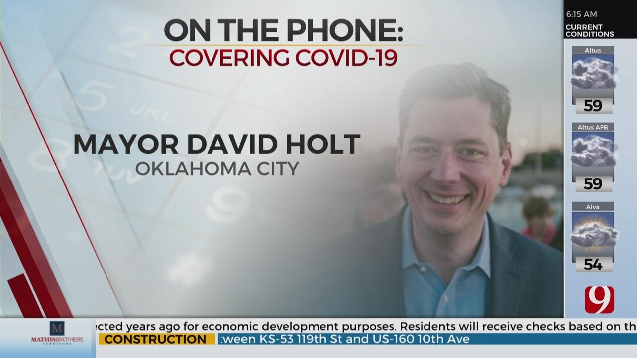 Watch: OKC Mayor David Holt On City's Reopening Progress