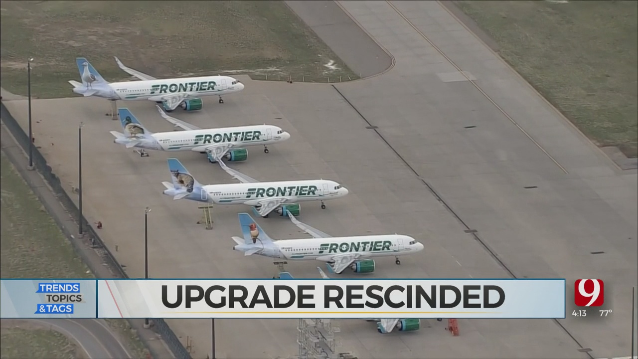 Trends, Topics & Tags: Airline Upgrade Rescinded