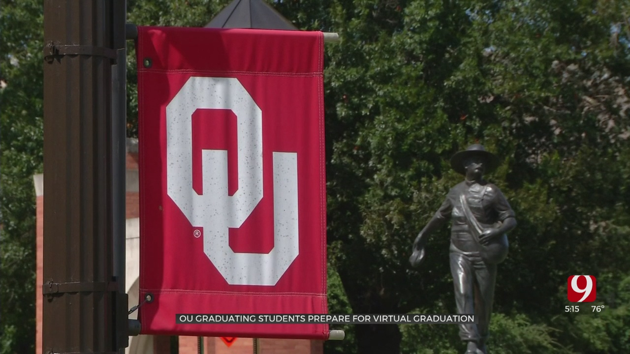 OU Breaks 130-Year Graduation Tradition Due To Coronavirus Pandemic