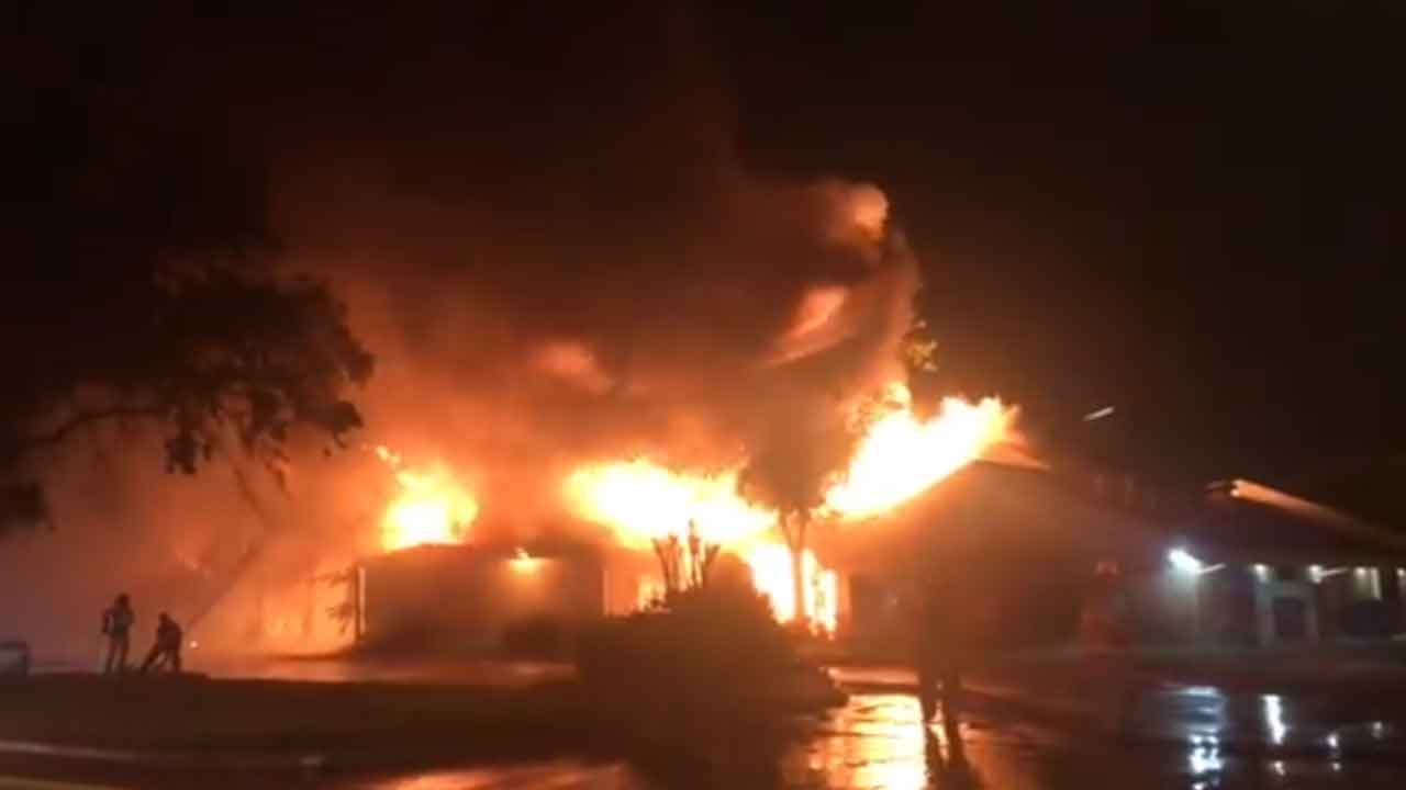 Fire Reported At Norman Fraternity House