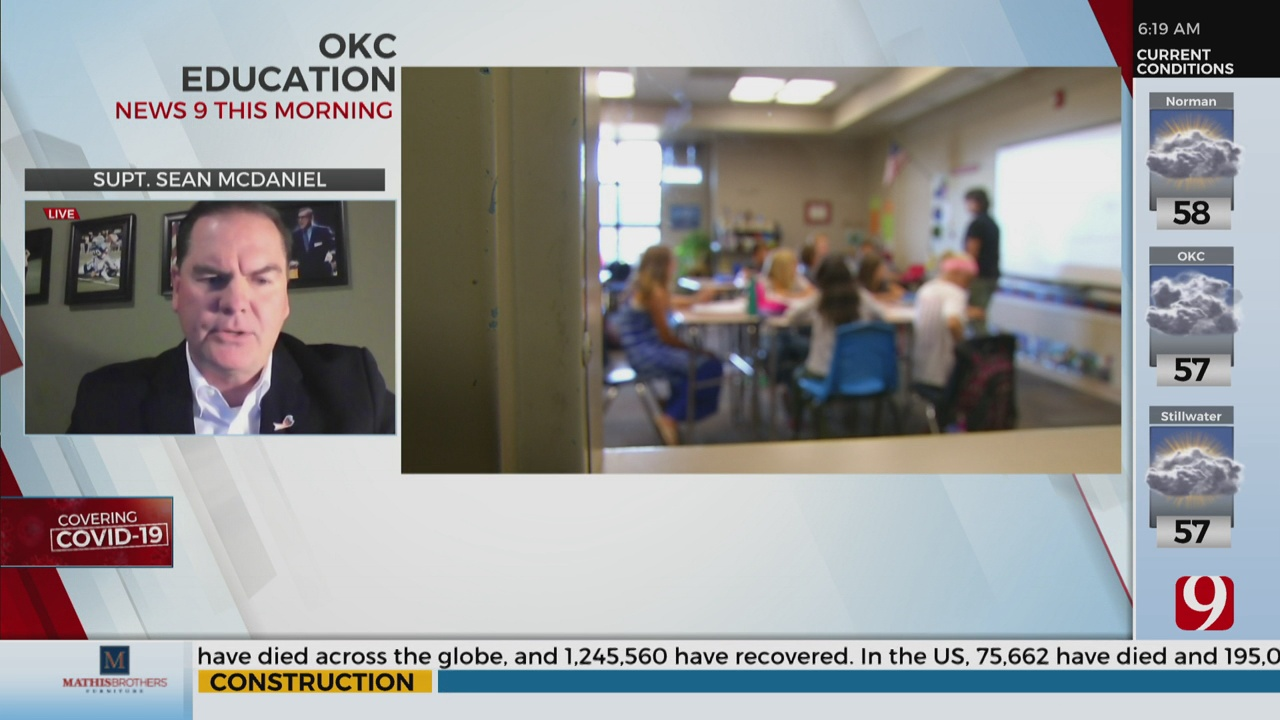 Watch: OKCPS Superintendent On The Districts Distance Learning Plan