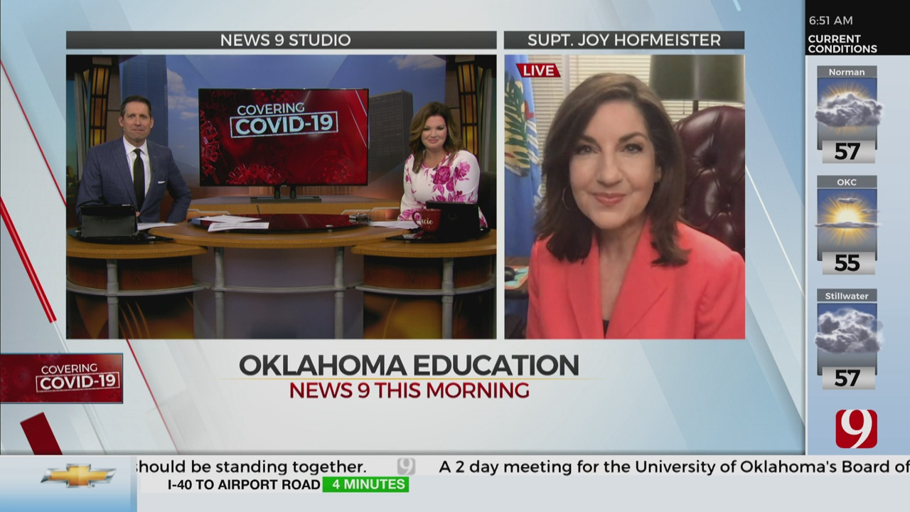 Watch: State Superintendent Joy Hofmeister On If Students Will Return To The Classrooms This Fall