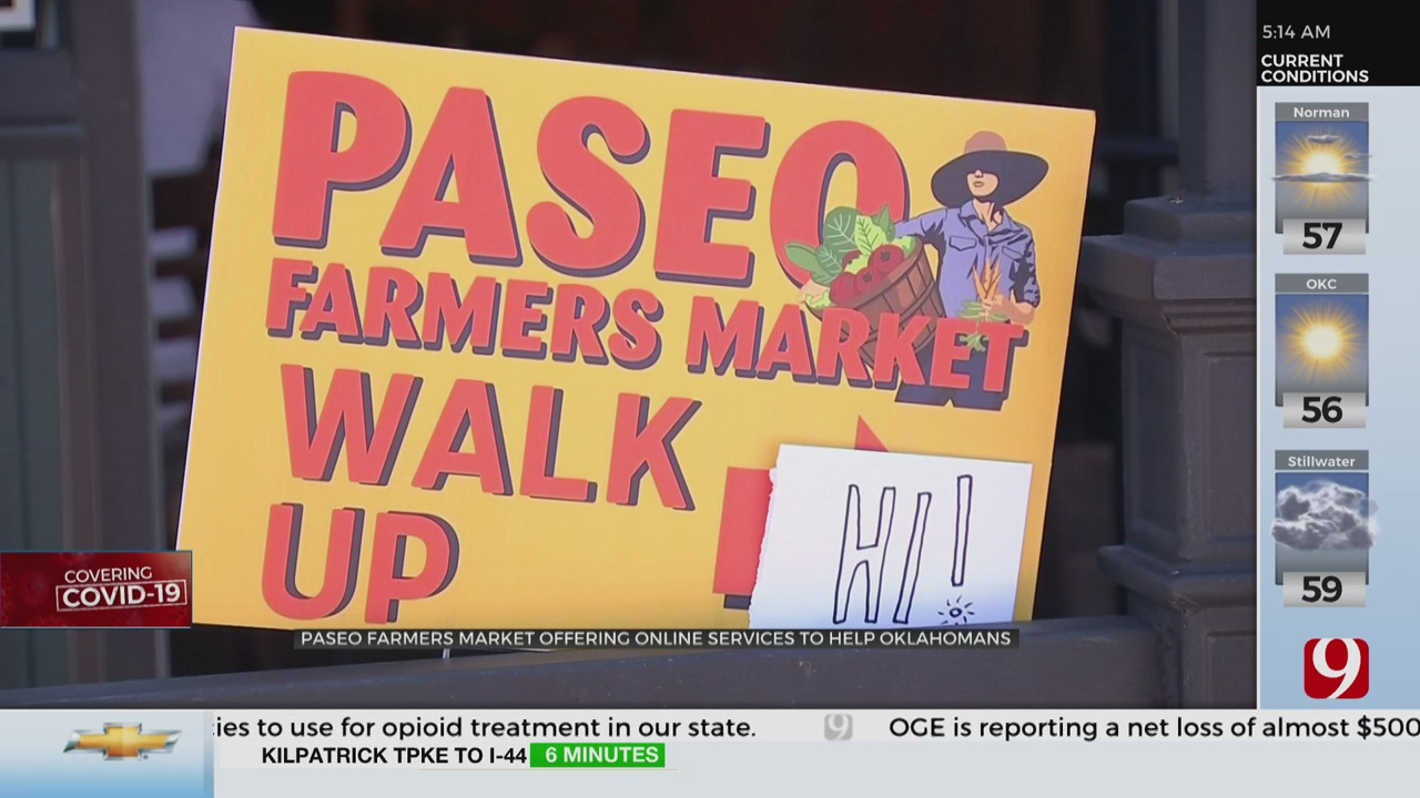 Paseo Farmers Market Finds Success Through Online Ordering