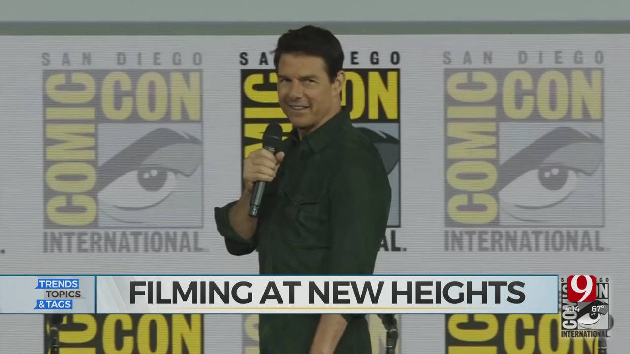 Trends, Topics & Tags: Tom Cruise Filming In Space?