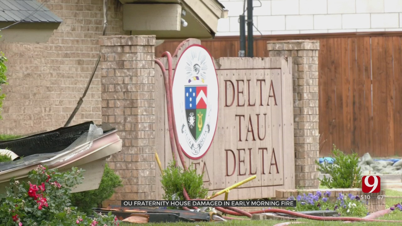 OU Fraternity House Heavily Damaged By Overnight Fire, Norman Firefighters Say