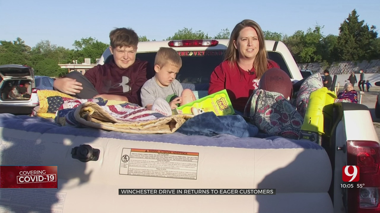 Opening Night At Winchester Drive-In Draws Crowds Amid COVID-19