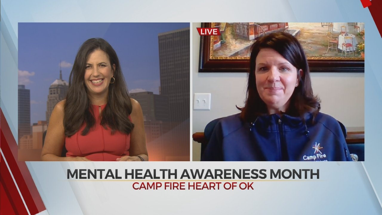 Camp Fire Heart of Oklahoma Promoting Mental Health Awareness With Virtual Camp
