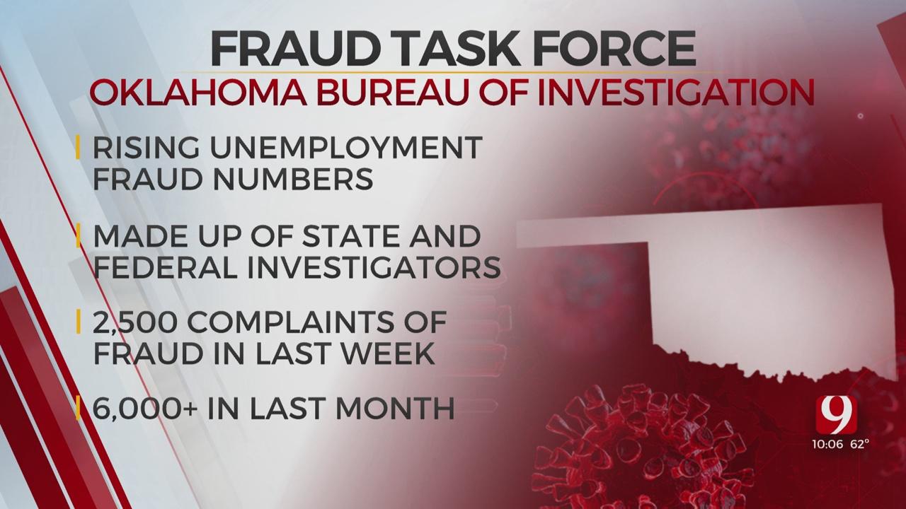 OSBI Creates Unemployment Fraud Task Force